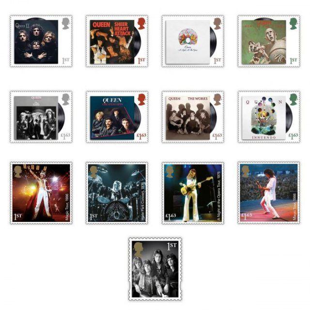 Queen devient le troisième groupe de Rock honoré sur des timbres au Royaume-Uni