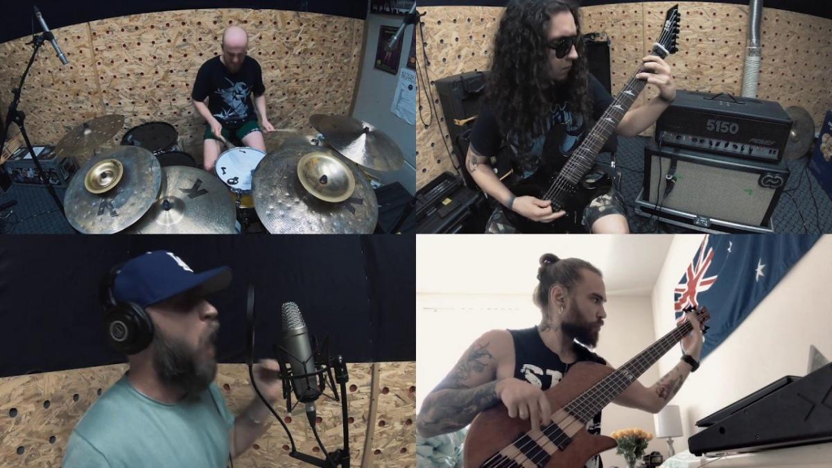 Des membres de Jinjer, Zlam et Violateress partagent une reprise de Sepultura