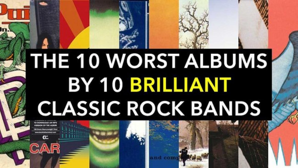 Les 10 plus mauvais albums de 10 groupes de Rock brillants