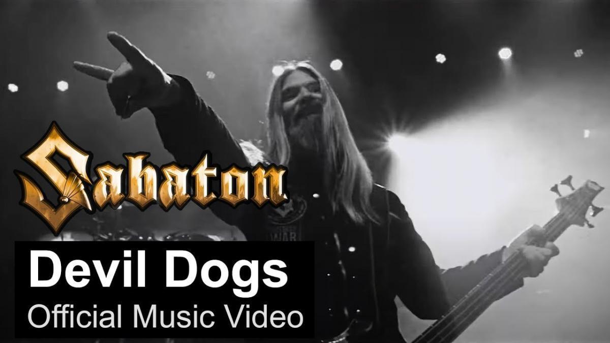 Sabaton sort un clip vidéo pour Devil Dogs