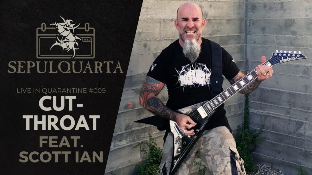 Scott Ian de Anthrax se joint à Sepultura pour jouer Cut-Throat en live !