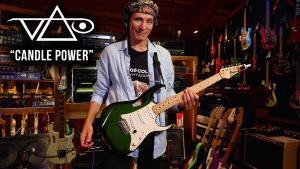 Steve Vai publie un nouveau morceau intitulé Candle Power