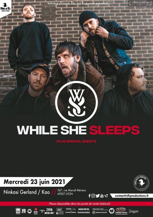 While She Sleeps annonce un nouveau concert à Lyon en juin 2021 !