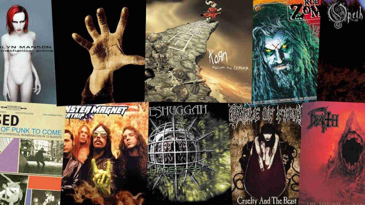Les 10 meilleurs albums Metal & Rock de 1998