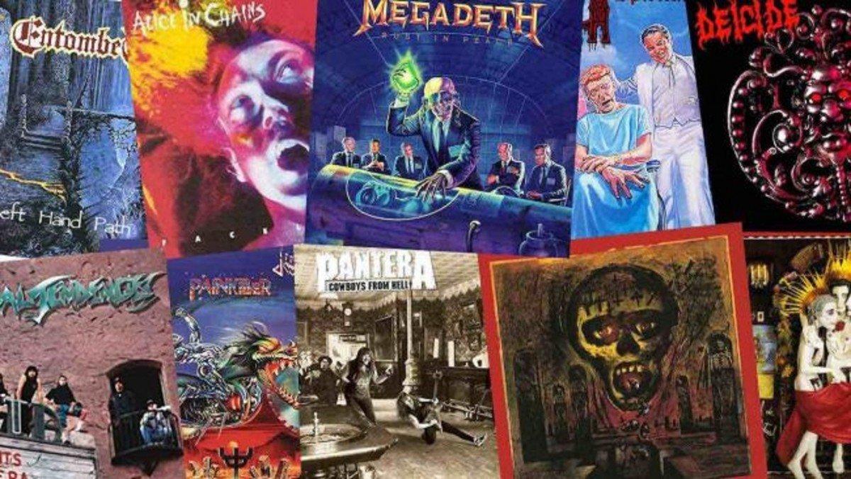 Les 10 meilleurs albums Metal & Rock de 1990