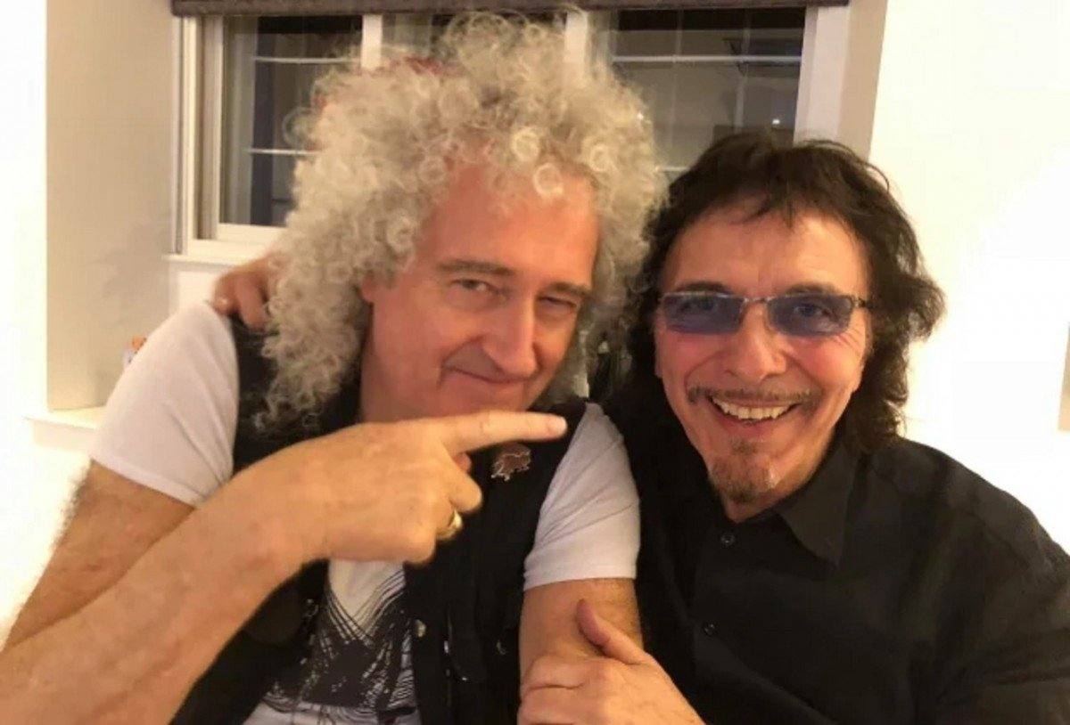 Brian May (Queen) dit qu'il y a une chance que sa collaboration avec Tony Iommi (Black Sabbath) voit le jour