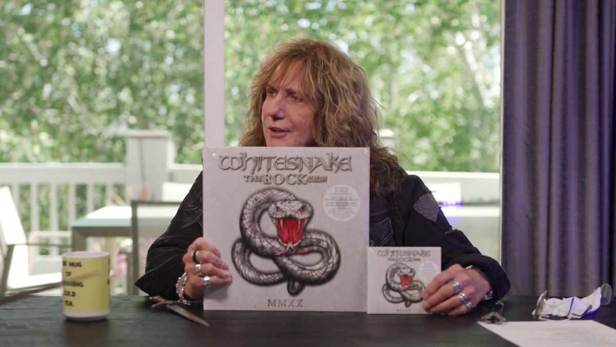 David Codervale de Whitesnake déballe The Rock Album (vidéo)