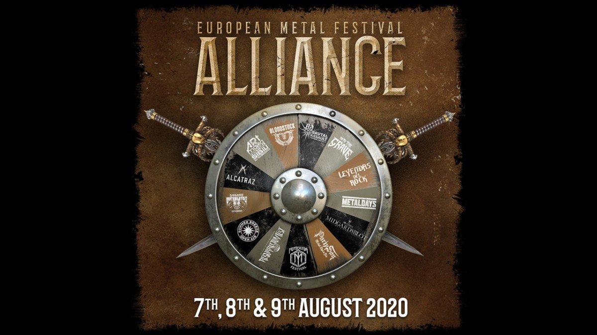 Découvrez l'affiche de l'European Metal Festival Alliance ! (Sabaton, Avatar, Mass Hysteria, etc.)
