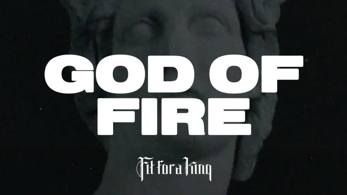 Fit For A King publie une lyric vidéo pour God of Fire (ft. Ryo Kinoshita de Crystal Lake)