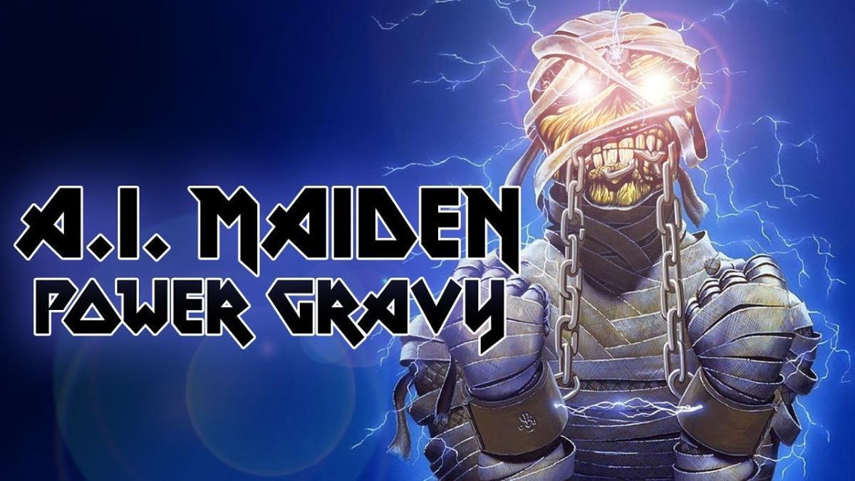 Un homme a écrit une chanson de Iron Maiden avec l'aide d'une intelligence artificielle, Power Gravy