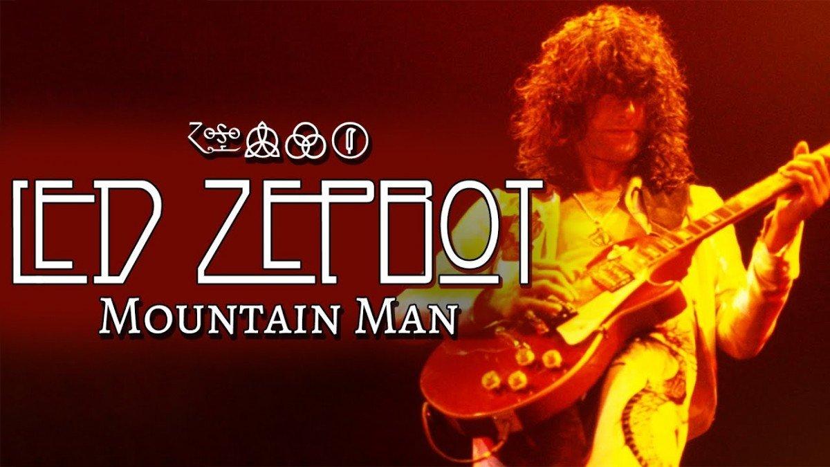Un homme a écrit une chanson de Led Zeppelin avec l'aide d'une intelligence artificielle, Mountain Man