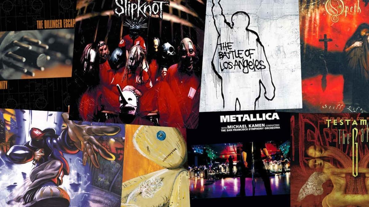 Les 10 meilleurs albums Metal & Rock de 1999