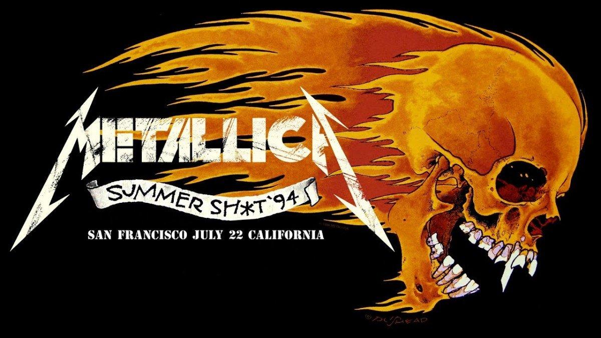"""Metallica va diffuser un concert """"extrait de deux vieilles cassettes VHS poussiéreuses provenant du sous-sol de Lars"""" cette nuit ! (#MetallicaMondays)"""