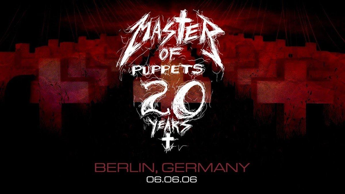 Metallica va diffuser un concert où il a joué Master Of Puppets en entier cette nuit ! (#MetallicaMondays)
