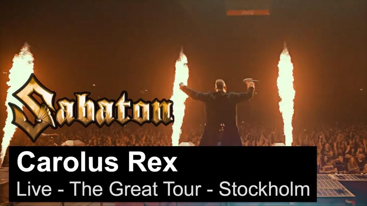 Sabaton publie une vidéo live de Carolus Rex à Stockholm