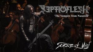 Septicflesh partage une vidéo live de The Vampire from Nazareth