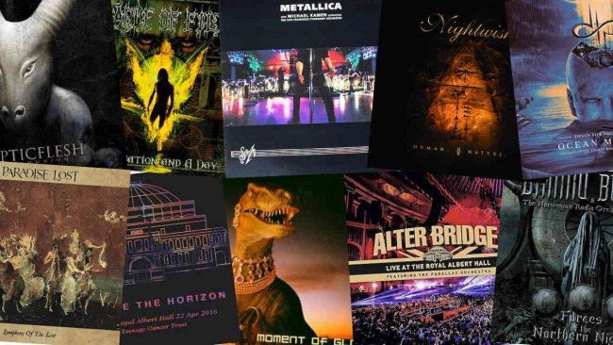 Les 10 meilleurs albums de Metal orchestral