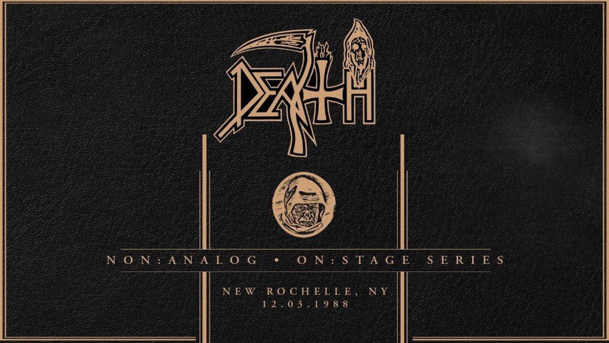 Death : Non Analog – On Stage Series continue avec un concert de 1988