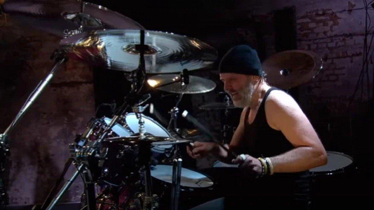 Lars Ulrich de Metallica nomme la chanson qui lui a donné envie de faire partie d'un groupe