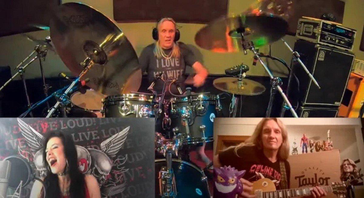 Des membres de Iron Maiden, Whitesnake et Evanescence unissent leurs forces pour une reprise de Live And Let Die