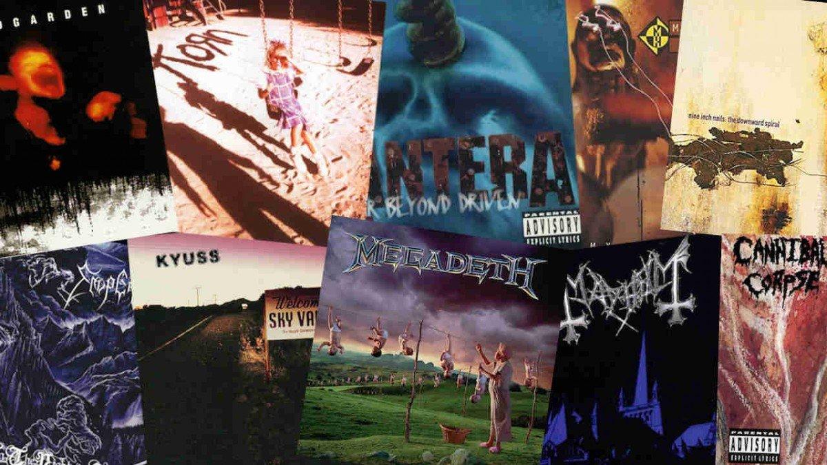 Les 10 meilleurs albums Metal & Rock de 1994