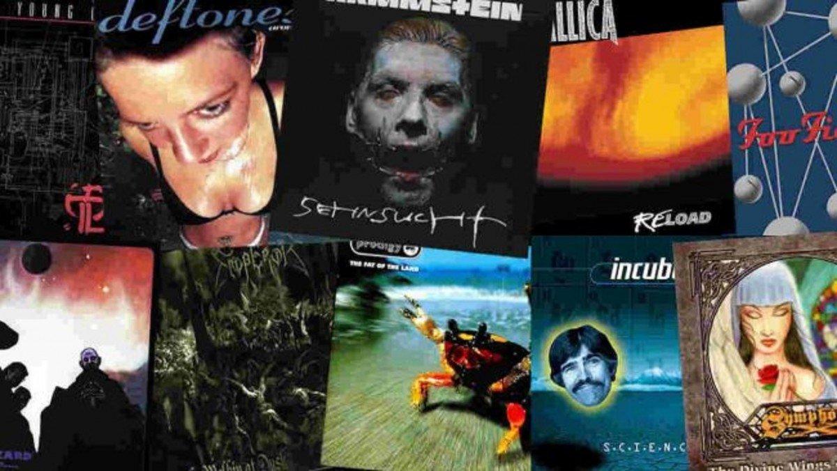 Les 10 meilleurs albums Metal & Rock de 1997