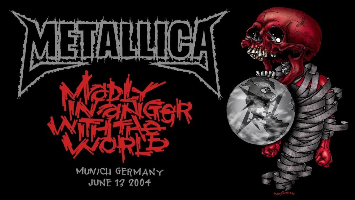 Metallica va diffuser un concert de 2004 à Munich cette nuit ! (#MetallicaMondays)