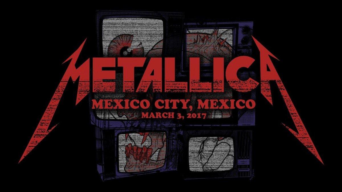 Metallica va diffuser un concert de 2017 au Mexique cette nuit ! (#MetallicaMondays)