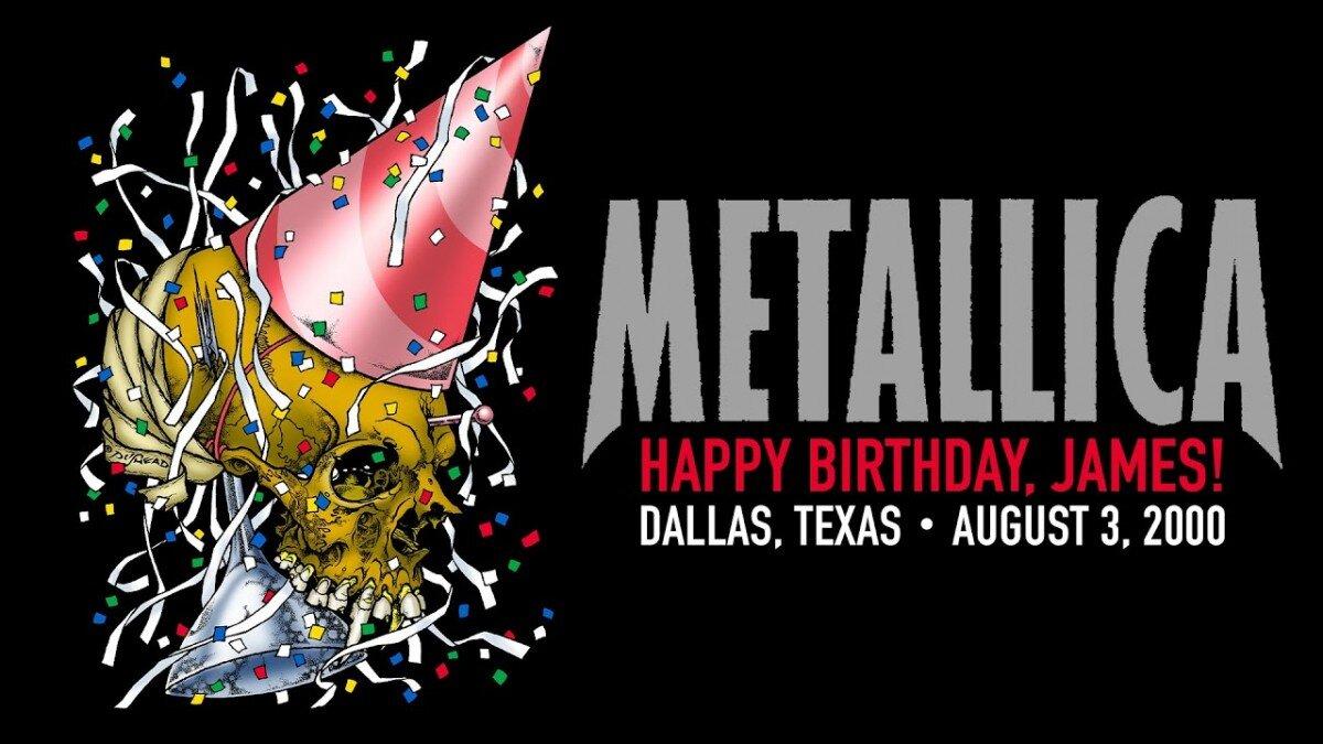 Metallica va célébrer l'anniversaire de James Hetfield en diffusant un concert spécial cette nuit ! (#MetallicaMondays)