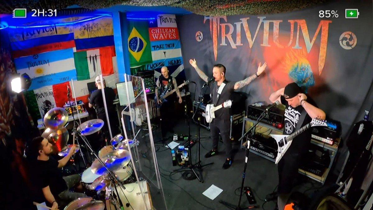 Regardez Trivium rendre hommage à Riley Gale de Power Trip au milieu de son récent livestream The Deepest Cuts