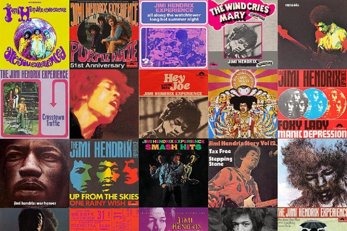 Les 60 meilleures chansons de Jimi Hendrix