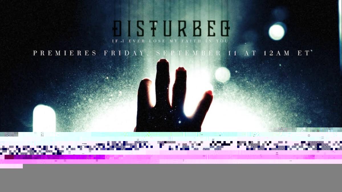 Disturbed publie sa reprise de If I Ever Lose My Faith in You de Sting