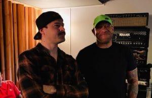 Howard Jones et Jared Dines sont en studio pour leur nouveau projet commun