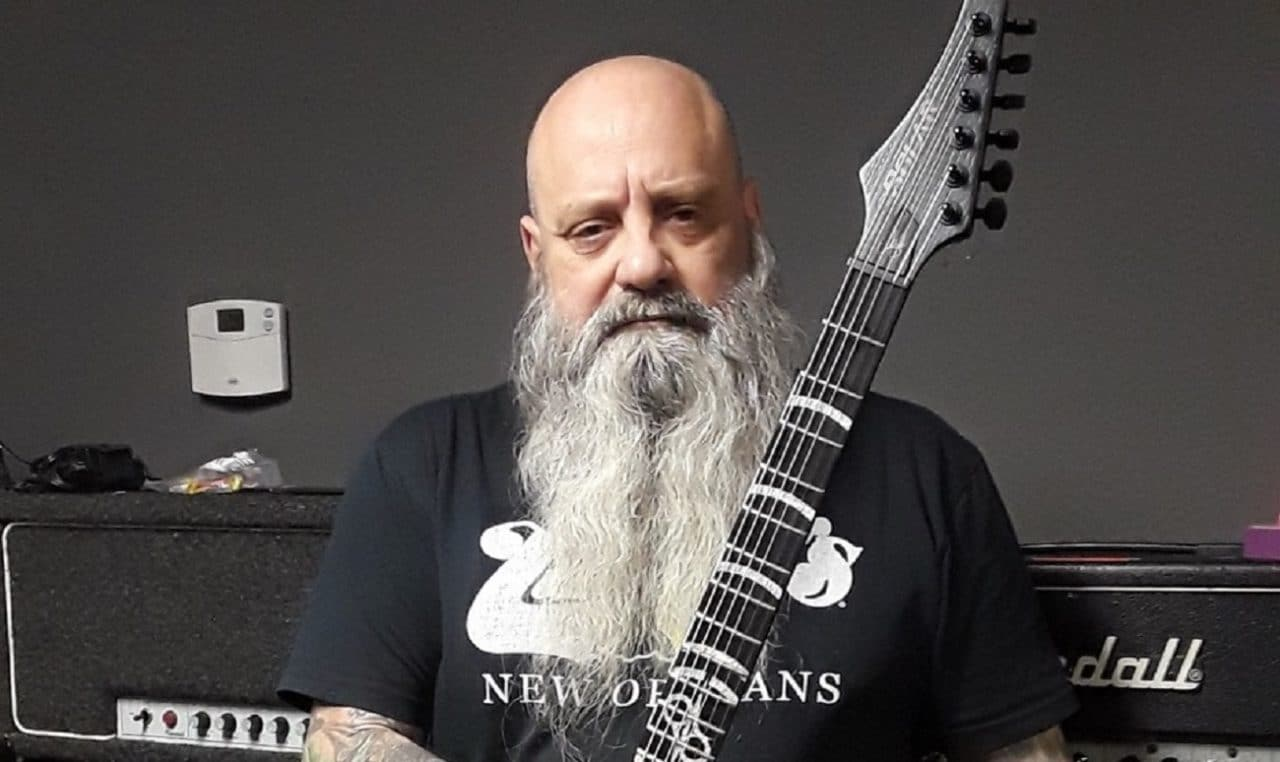 Solar Guitars accueille Kirk Windstein (Crowbar/Down) au sein de son équipe