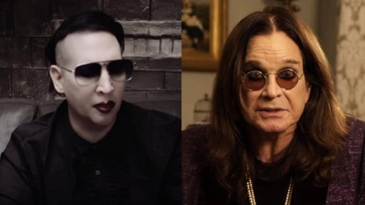 """Marilyn Manson à propos d'Ozzy Osbourne : """"Il a toujours été une personne très calme et intéressante"""""""