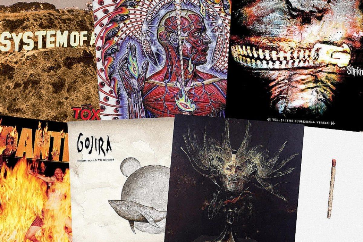 Les 66 meilleures chansons de Metal du 21ème siècle