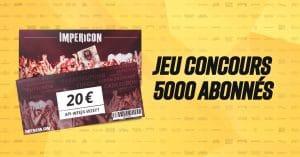 Tentez de gagner l'un des 10 bons d'achat d'une valeur de 20€ à valoir chez Impericon !