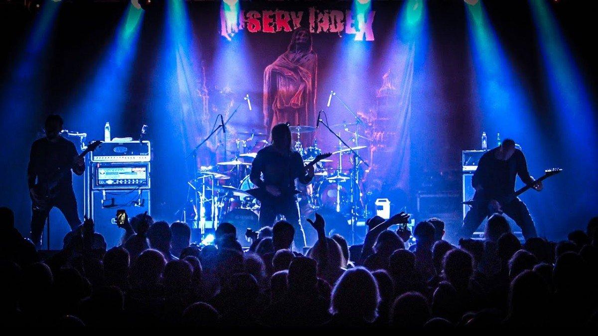 Regardez le concert complet de Misery Index au Backstage à Munich