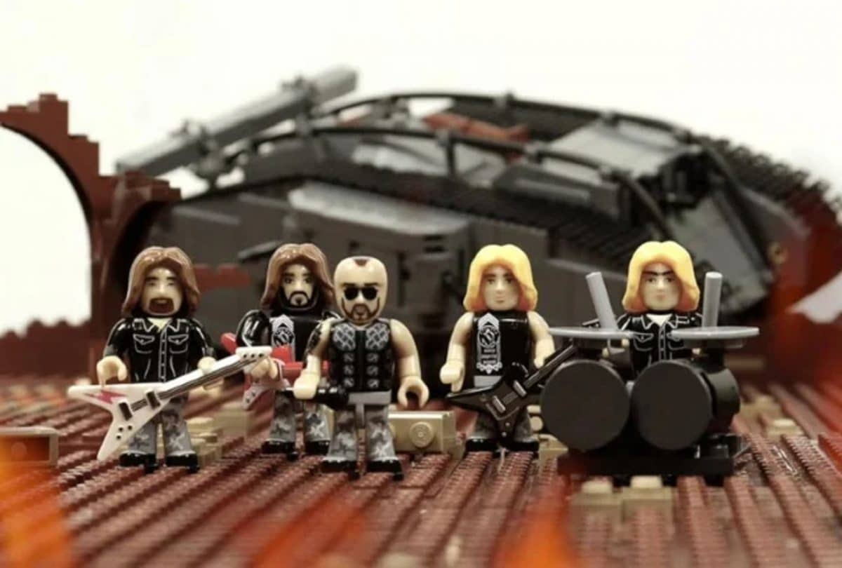 Sabaton utilise des legos pour créer le clip vidéo de The Future Of Warfare