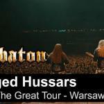 Sabaton sort une vidéo live de Winged Hussars à Varsovie