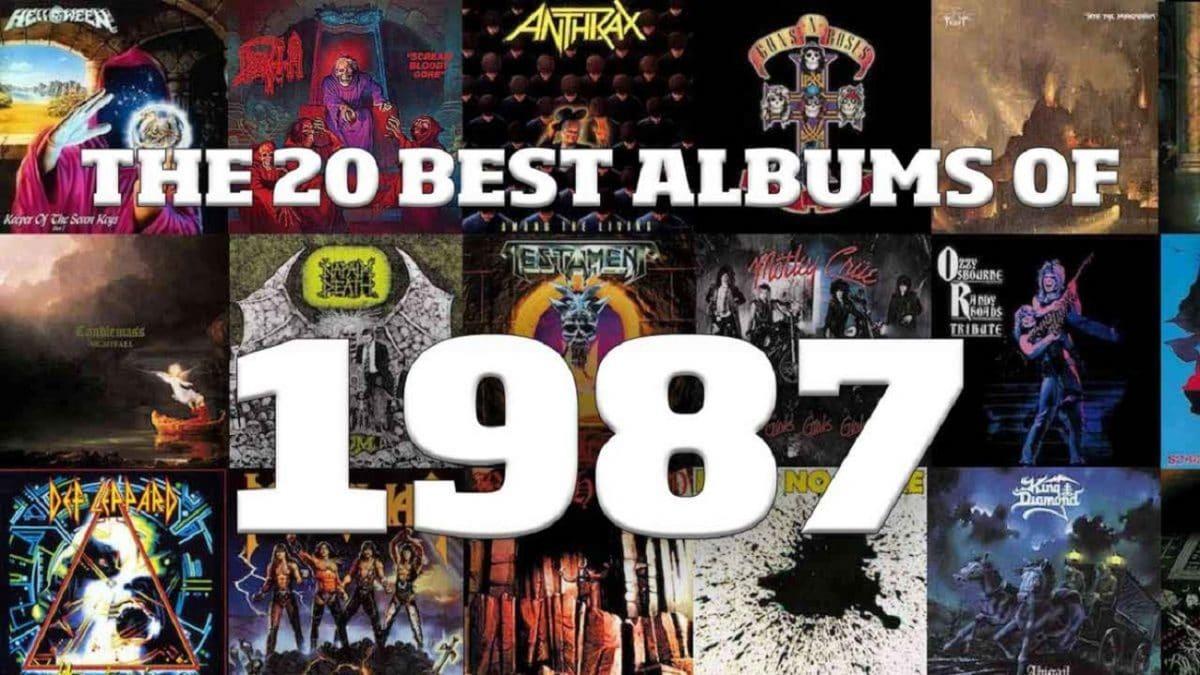 Les 20 meilleurs albums de Metal de 1987