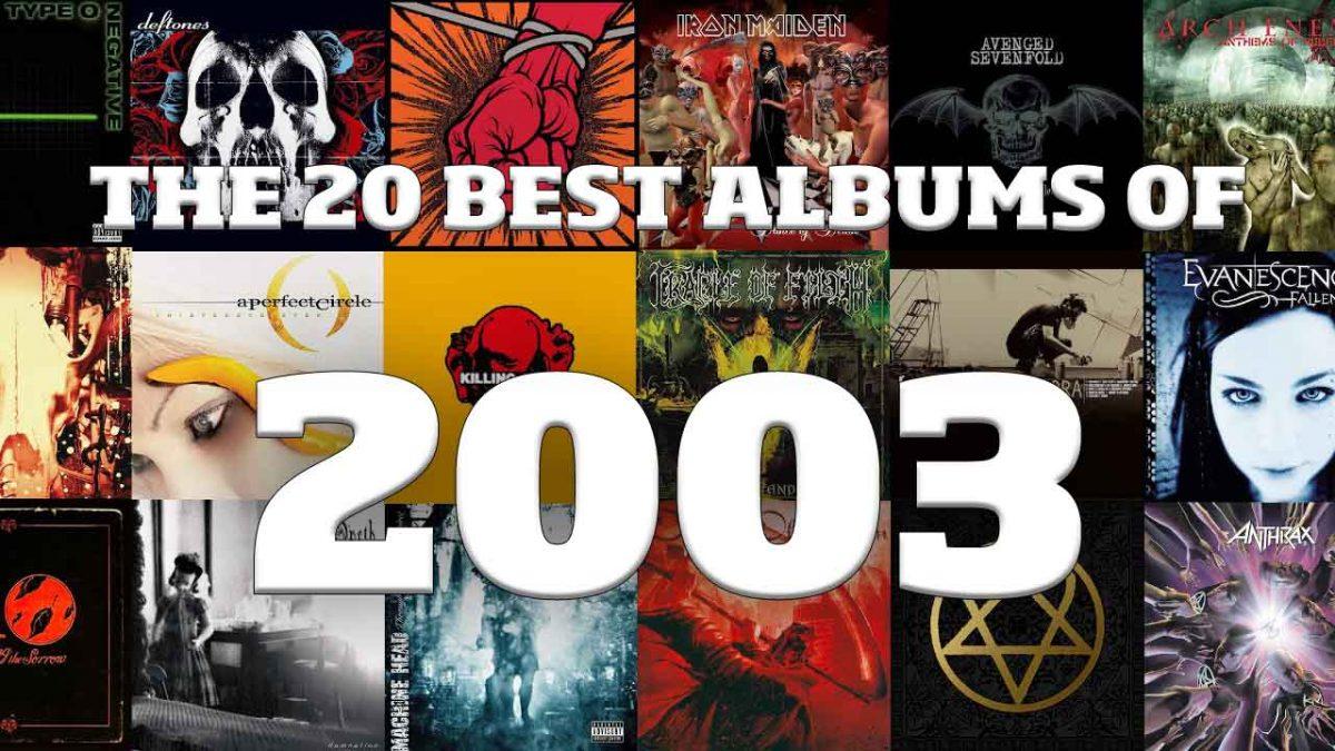 Les 20 meilleurs albums de Metal de 2003