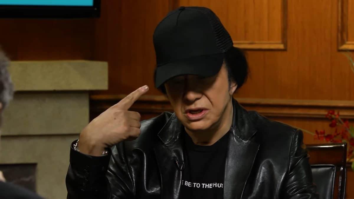 """Gene Simmons de Kiss : """"L'industrie du disque est morte pour les nouveaux artistes"""""""