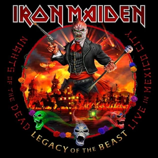 Iron Maiden sortira Nights Of The Dead, Legacy Of The Beast : Live In Mexico City en novembre