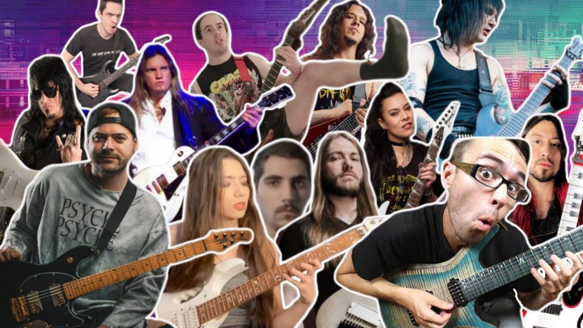 Regardez cette giga collab entre guitaristes avec Jared Dines, Stevie T et bien d'autres !
