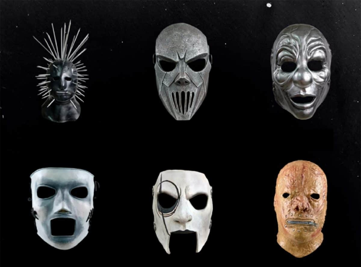 Slipknot met en vente les masques officiels de We Are Not Your Kind