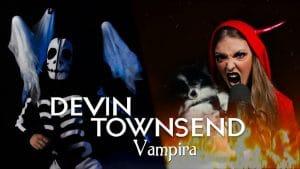 Vicky Psarakis de The Agonist sort une reprise de Devin Townsend