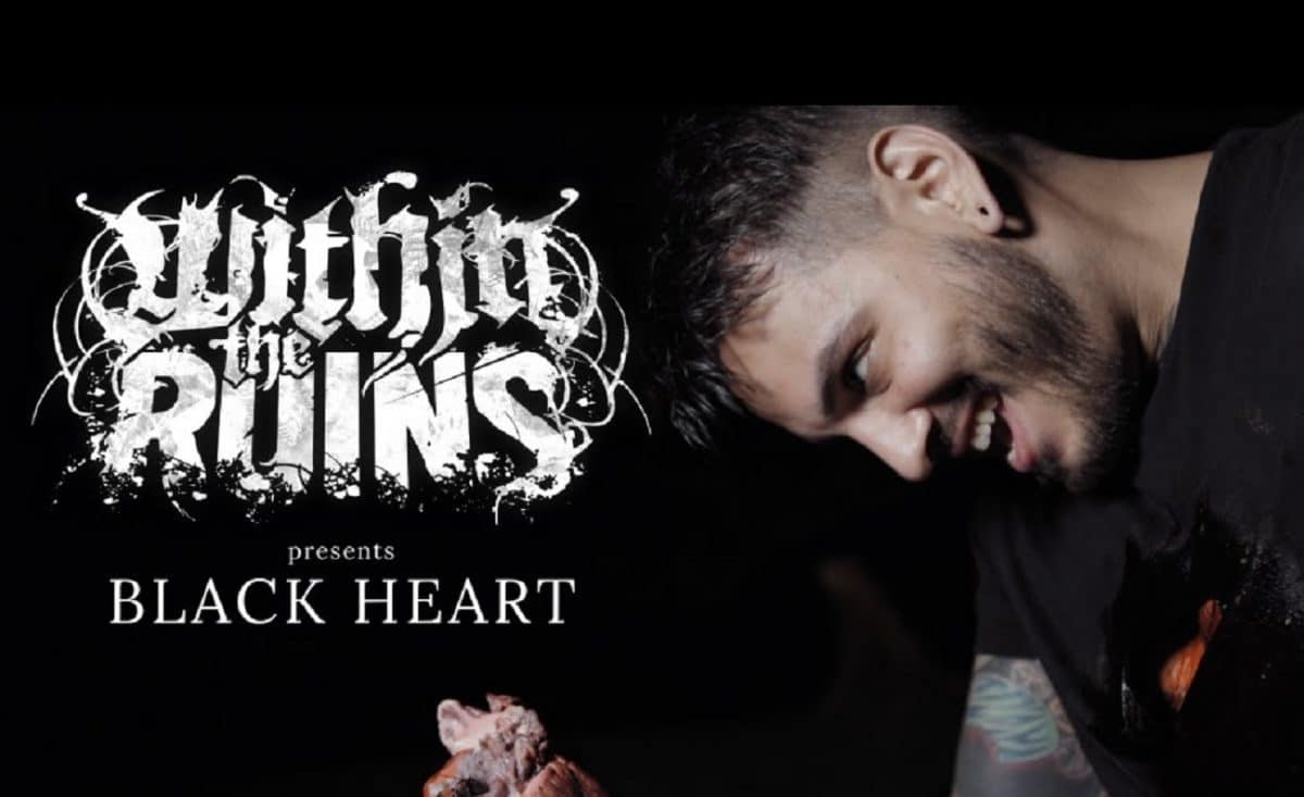 Within The Ruins publie un clip vidéo pour son nouveau single, Black Heart