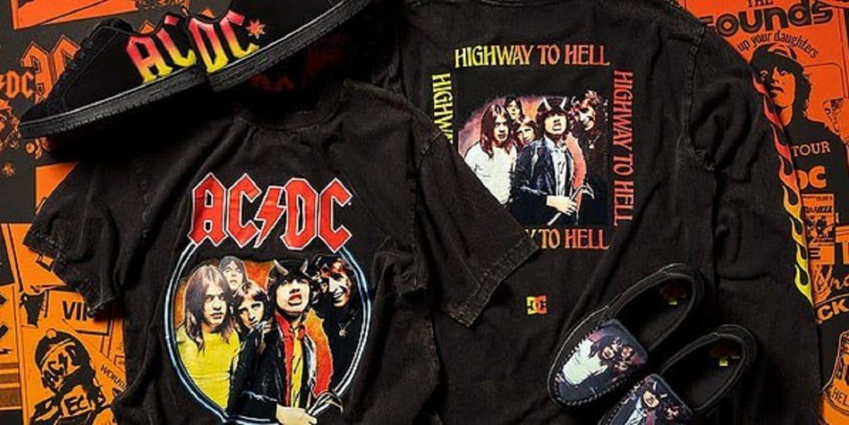 """AC/DC s'associe à DC Shoes pour """"une collaboration explosive"""""""