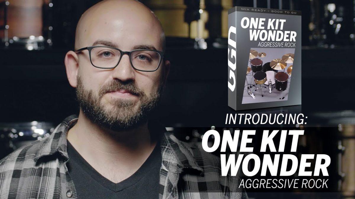 """Adam """"Nolly"""" Getgood annonce une nouvelle batterie virtuelle, One Kit Wonder : Aggressive Rock"""